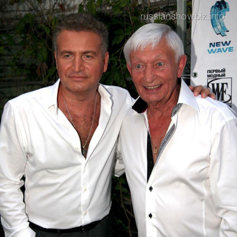 Леонид Агутин с отцом