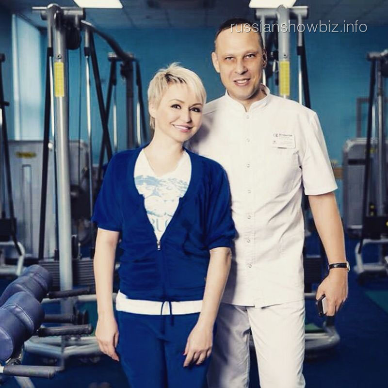 Катя Лель с врачом
