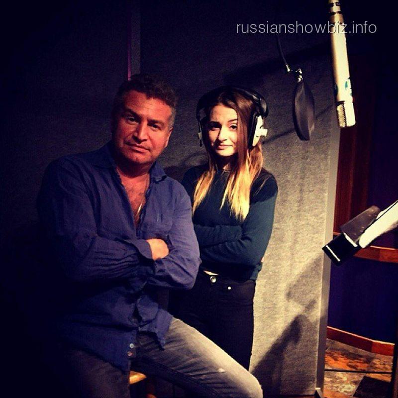 Леонид Агутин с дочерью Елизаветой