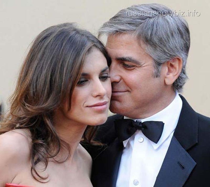 Элизабетта Каналис и Джордж Клуни
