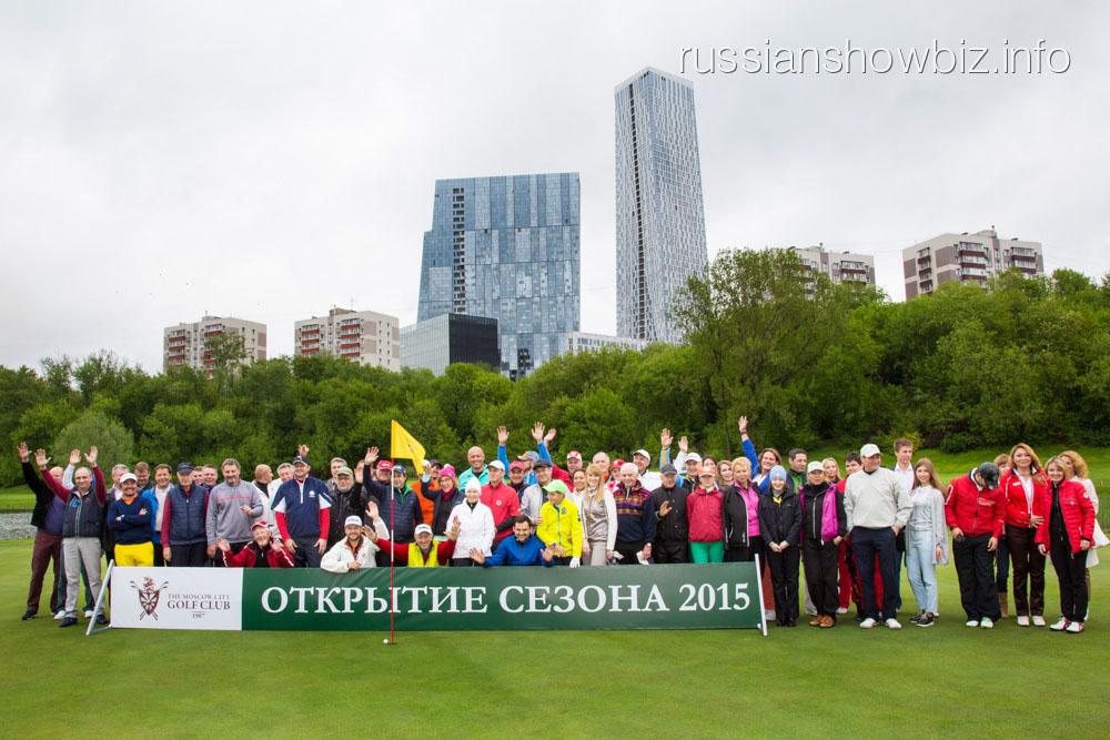 Открытие гольф-сезона-2015
