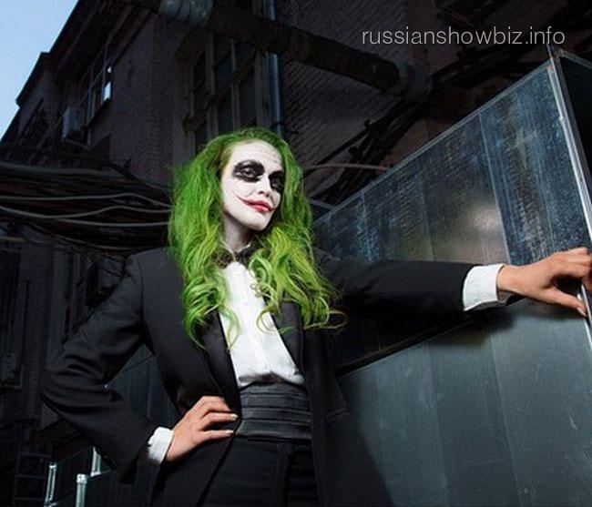 Алена Водонаева в образе Джокера