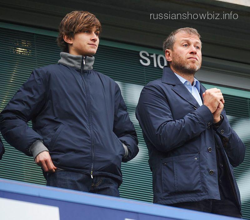 Роман Абрамович с сыном Аркадием