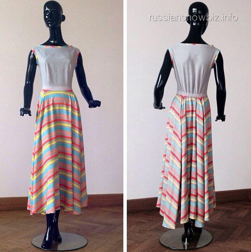 Платье из коллекции Надежды Грановской