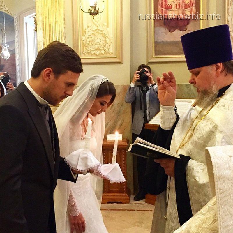 Венчание Галины Юдашкиной и Петра Максакова