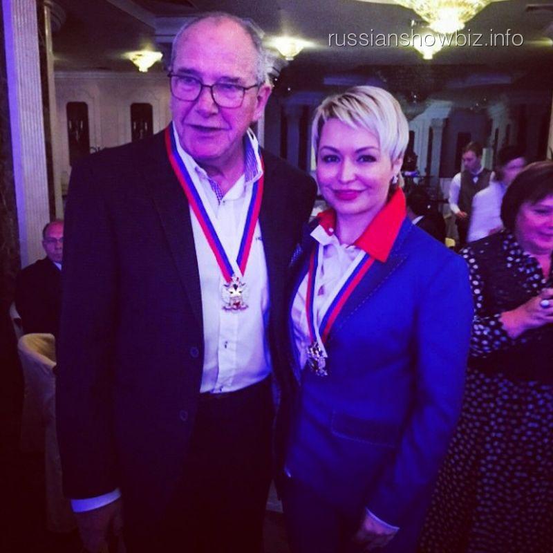 Эммануил Виторган и Катя Лель
