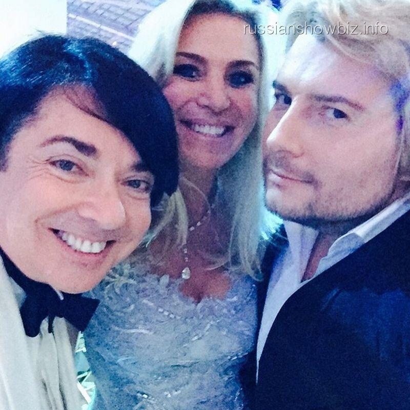 Селфи Валентина Юдашкина и Николая Баскова
