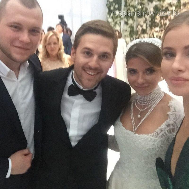 Сергей Бондарчук, Петр Максаков, Галина Юдашкина и Татиана Мамиашвили