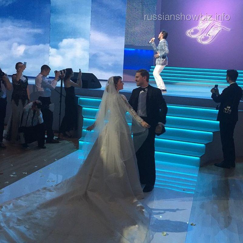 Свадьба Галины Юдашкиной