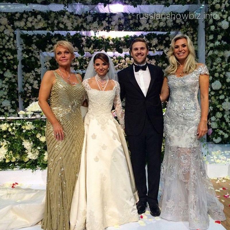 Свадьба Петра Максакова и Галины Юдашкиной