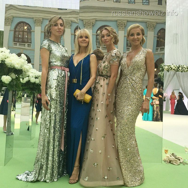 Светлана Бондарчук, Валерия, Марина Юдашкина и Татьяна Навка