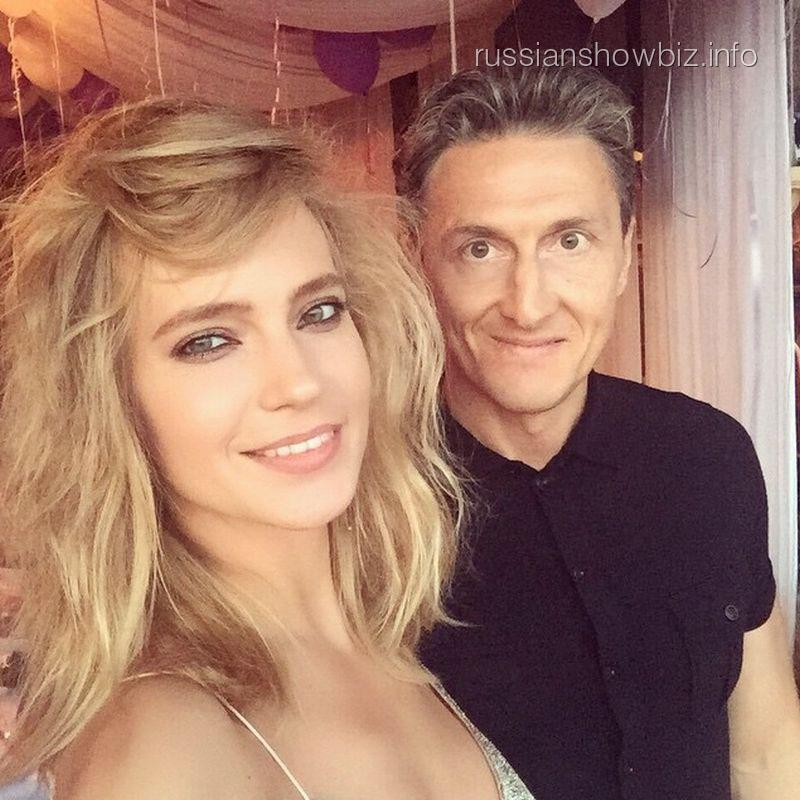 Певица Глюк'оZа с мужем