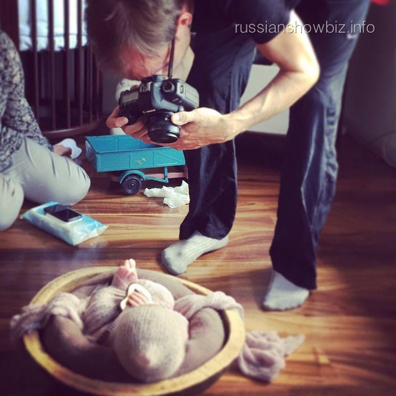 Фотосессия сына Дмитрия Диброва