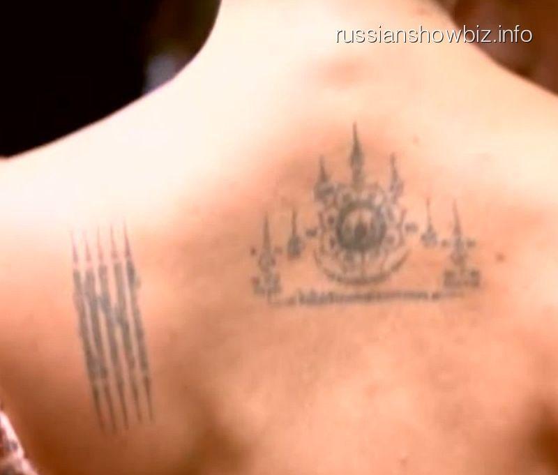 Татуировки Анастасии Волочковой