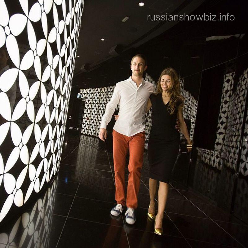 Виктория Боня с будущим мужем