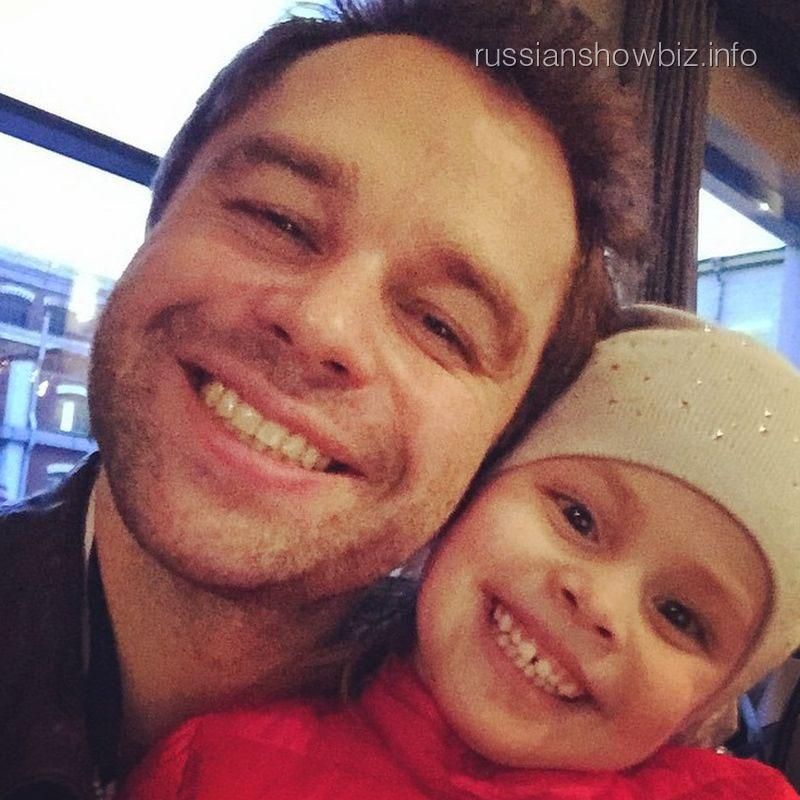 Виталий Гогунский с дочкой
