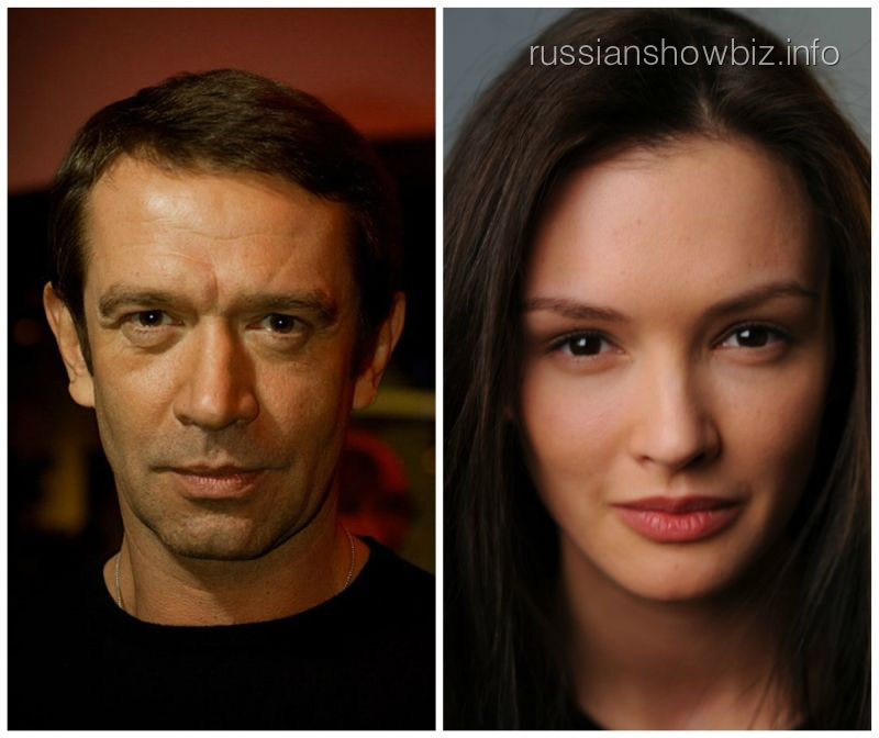 Владимир Машков и Паулина Андреева