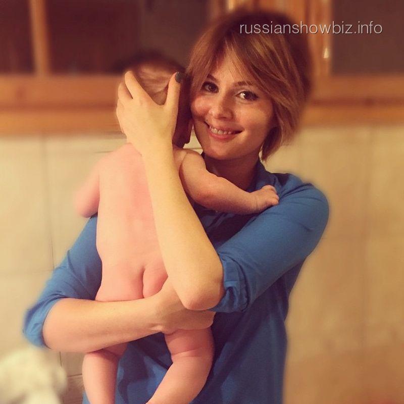 Мария Кожевникова с младшим сыном