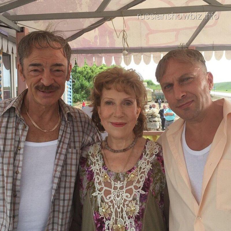 Михаил Боярский, Инна Чурикова и Дмитрий Нагиев