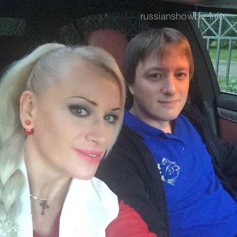 Наталья Гулькина с сыном