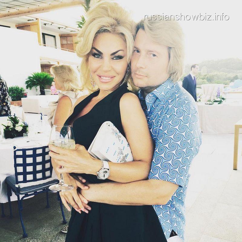 Николай Басков с возлюбленной Атаназией