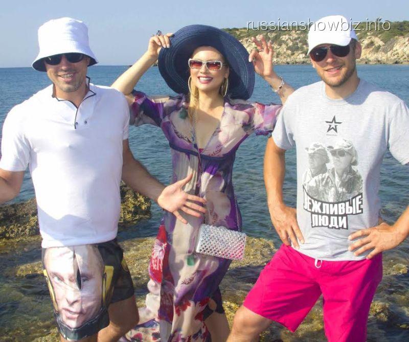 Лена Ленина в Греции