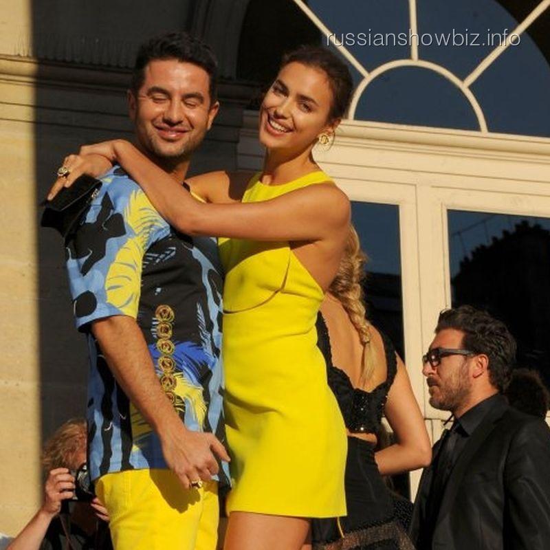 Ирина Шейк с новым мужчиной