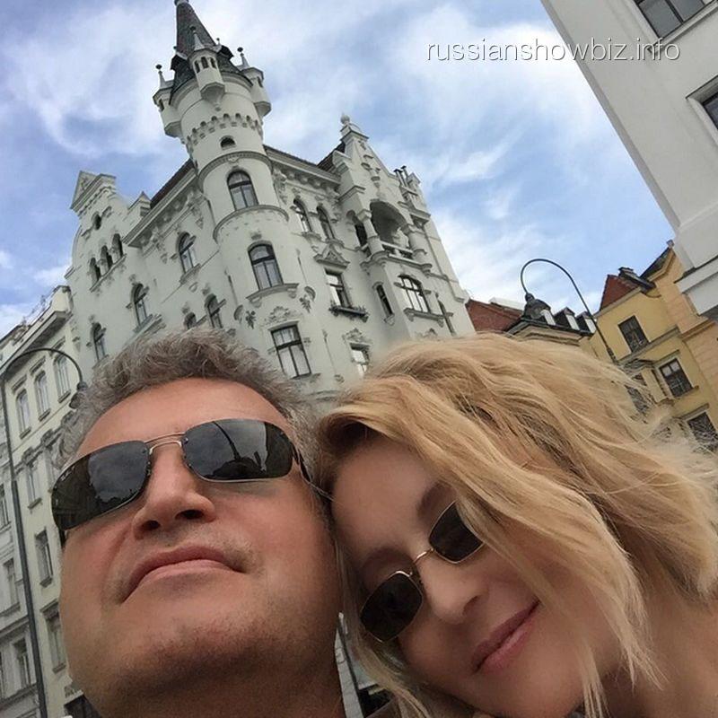 Леонид Агутин и Анжелика Варум в Вене