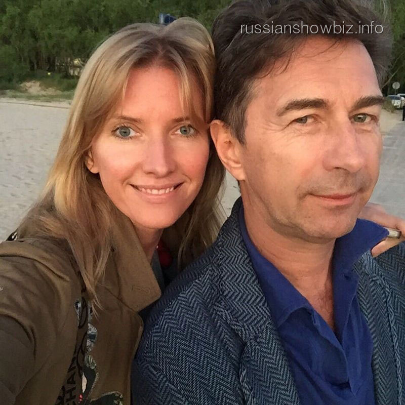 Валерий Сюткин с супругой