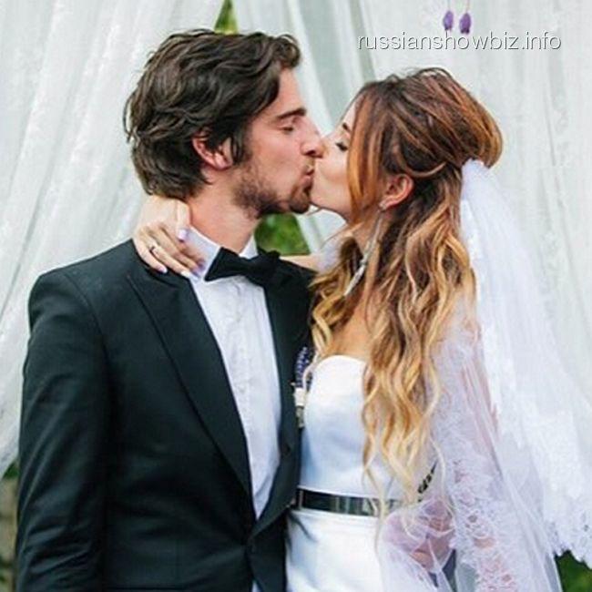 Надя Дорофеева с мужем
