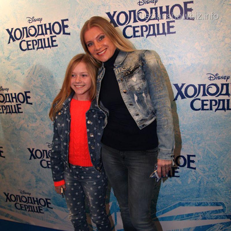 Галина Данилова с дочерью