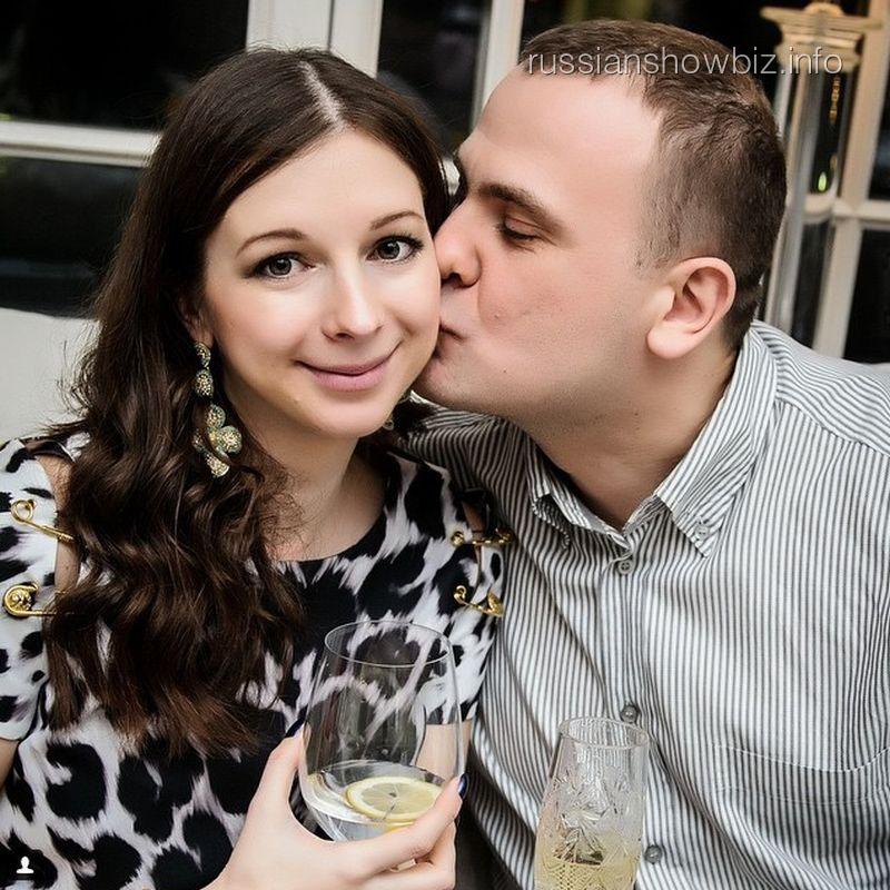 Ульяна Подольская с мужем