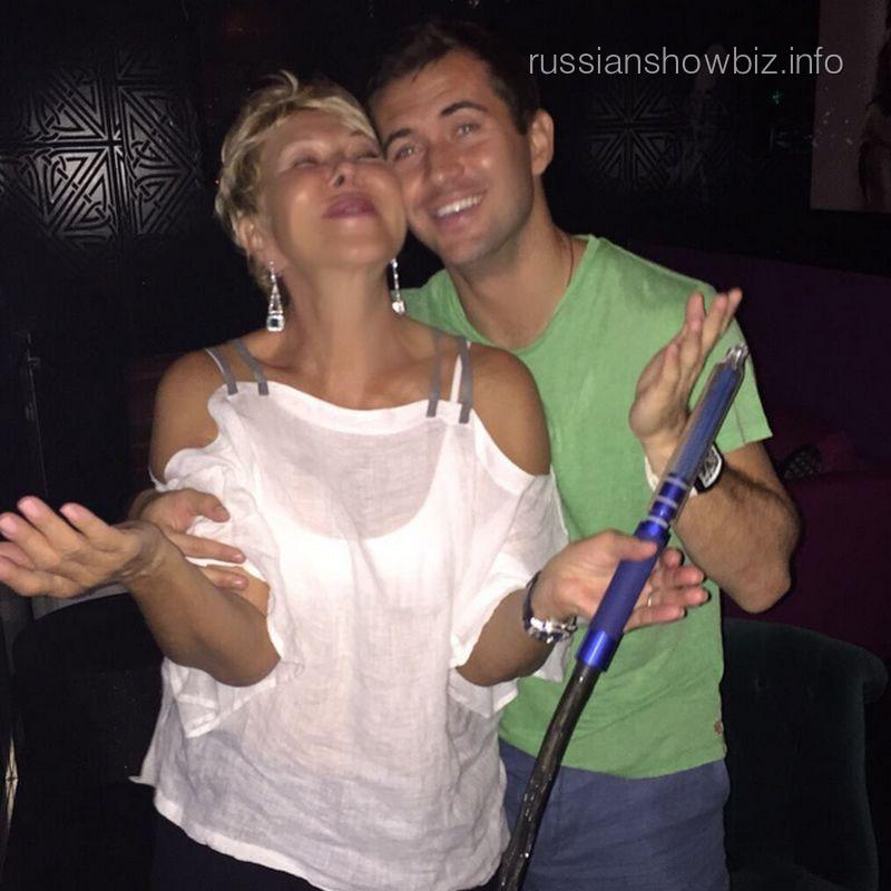 Любовь Успенская и Александр Кержаков