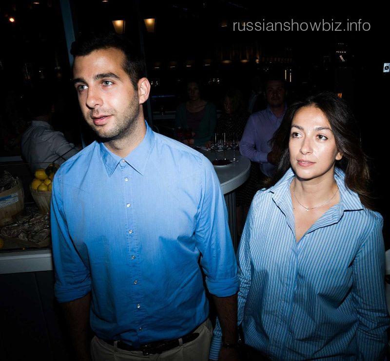 Иван Ургант с супругой Натальей