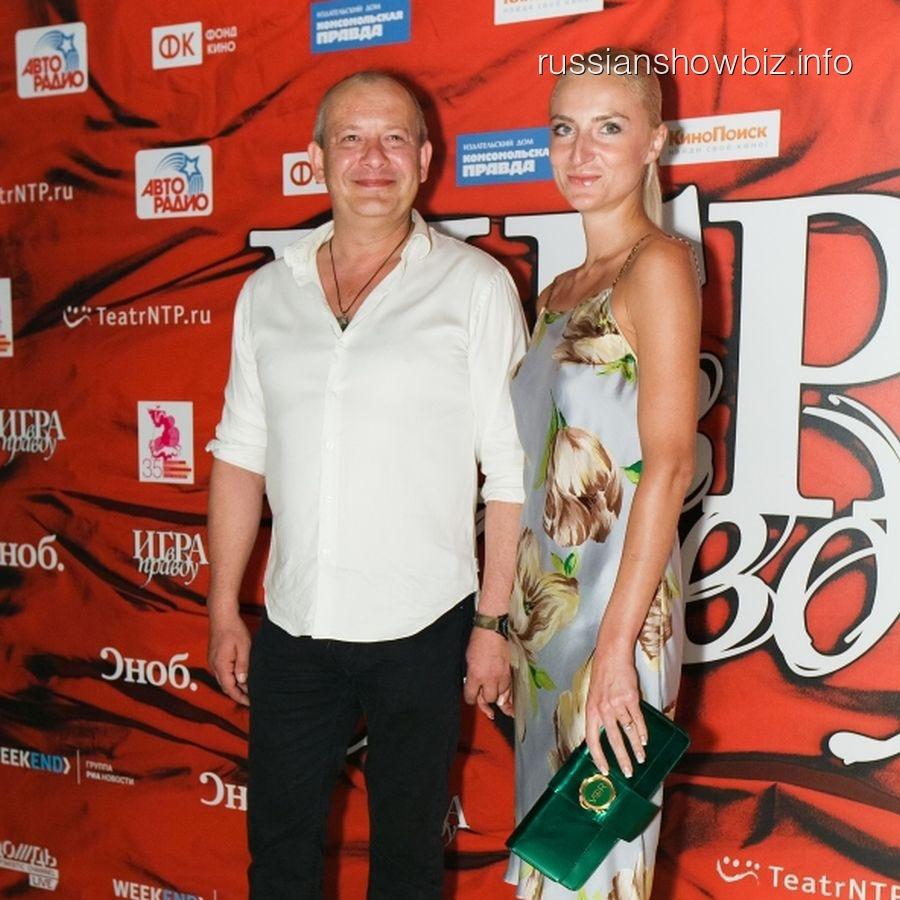 Дмитрий Марьянов с возлюбленной Ксенией