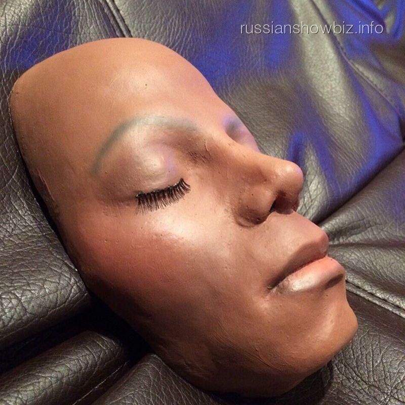 Слепок лица Майкла Джексона