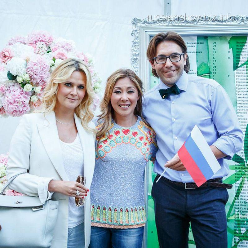 Наталья Шкулева, Анита Цой и Андрей Малахов