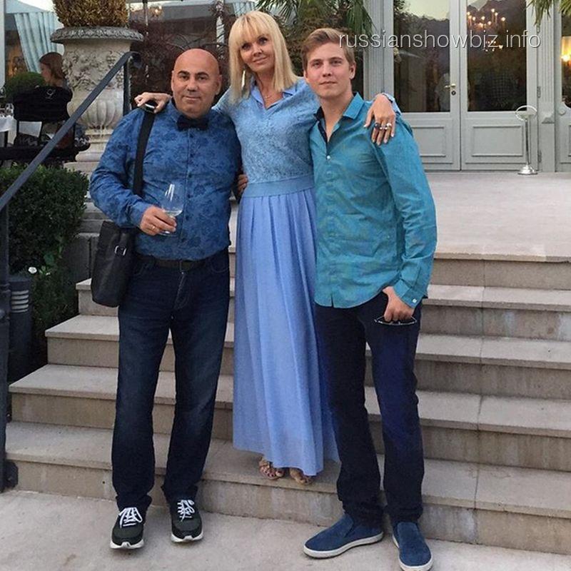 Иосиф Пригожин и Валерия с сыном