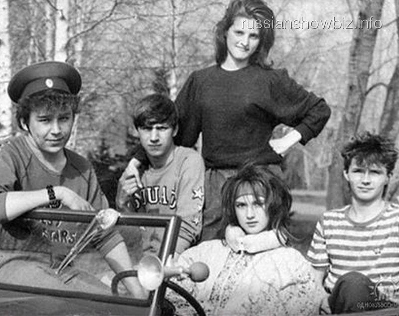 Лера Кудрявцева в юности