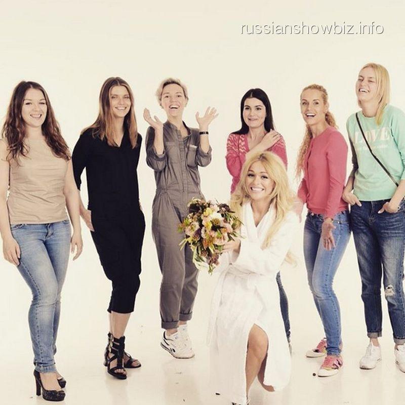 Анна Хилькевич в свадебной фотосессии