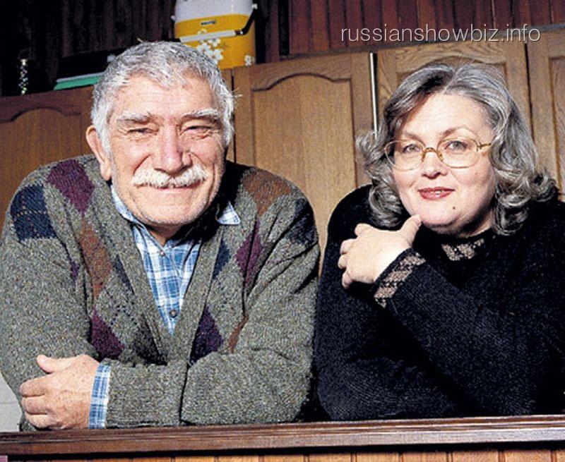Армен Джигарханян с бывшей женой Татьяной