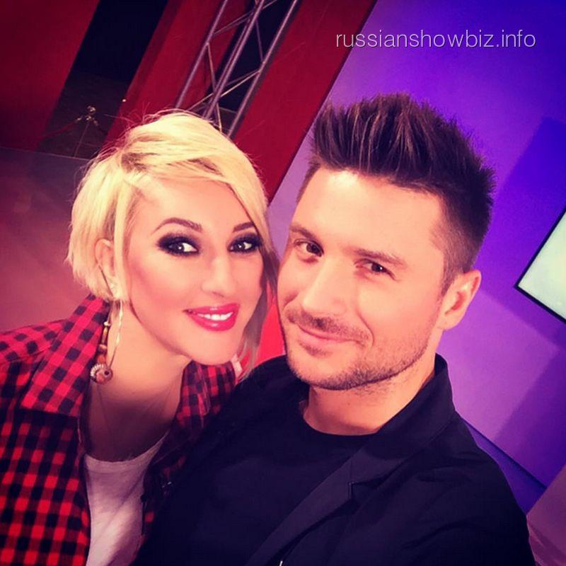 Лера Кудрявцева и Сергей Лазарев