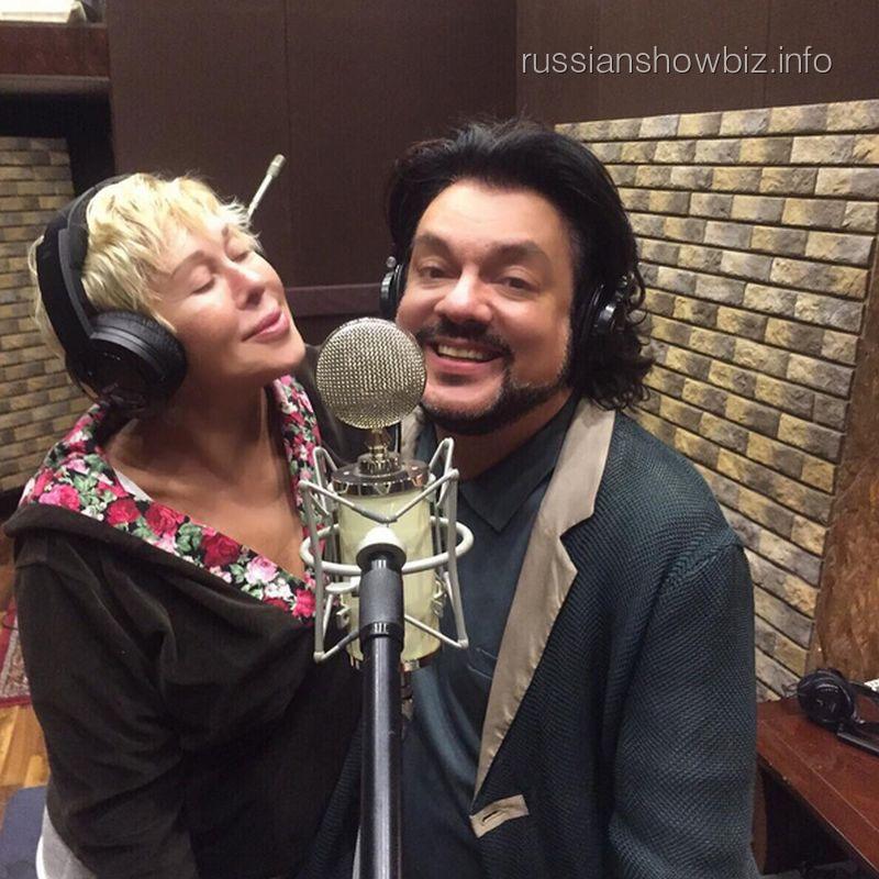 Любовь Успенская и Филипп Киркоров