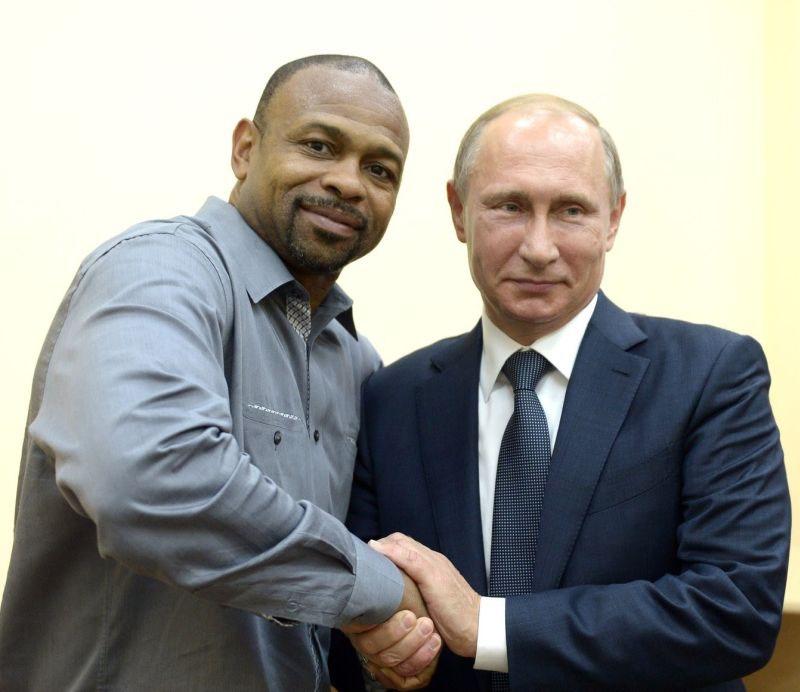 Рой Джонс-младший и Владимир Путин