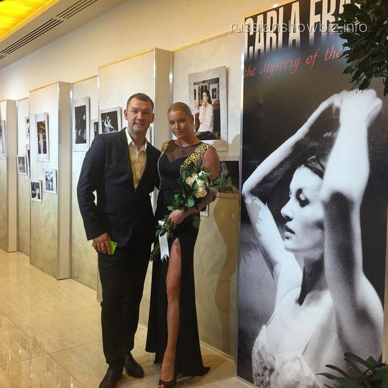 Антон Собянин и Анастасия Волочкова