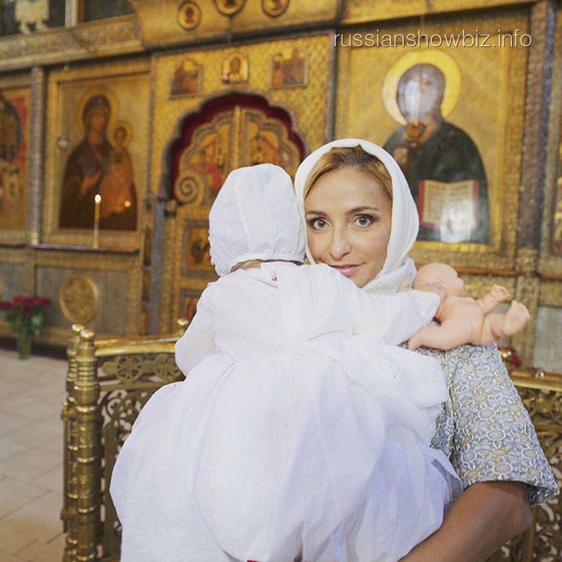 Татьяна Навка с дочерью