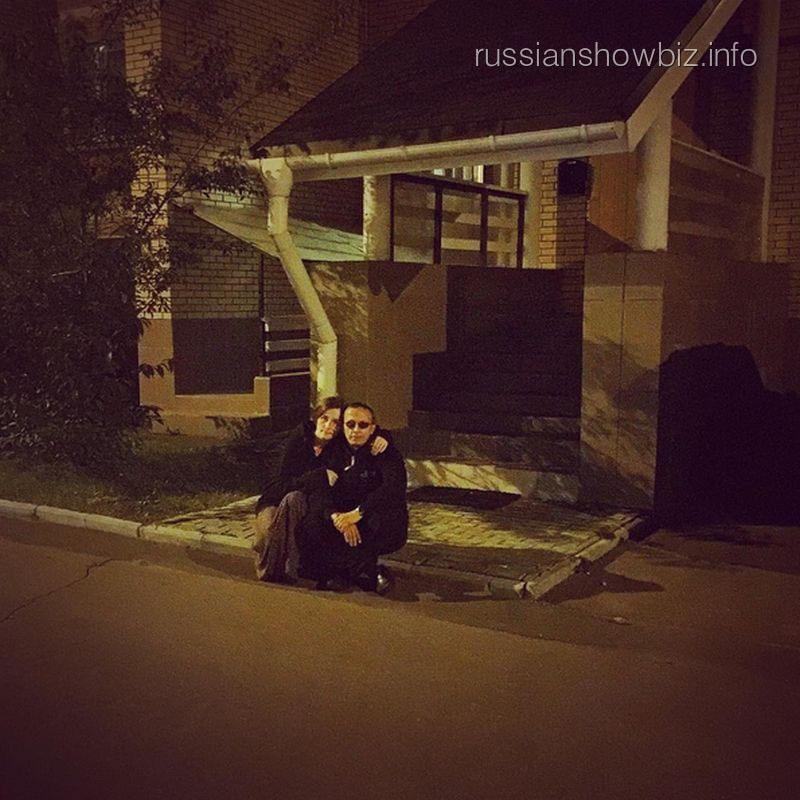 Иван Охлобыстин с женой