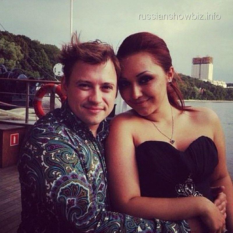Андрей Гайдулян с возлюбленной Дианой
