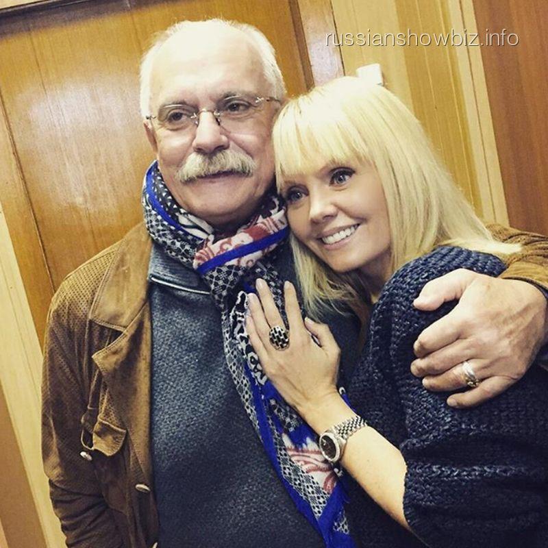 Никита Михалков и Валерия