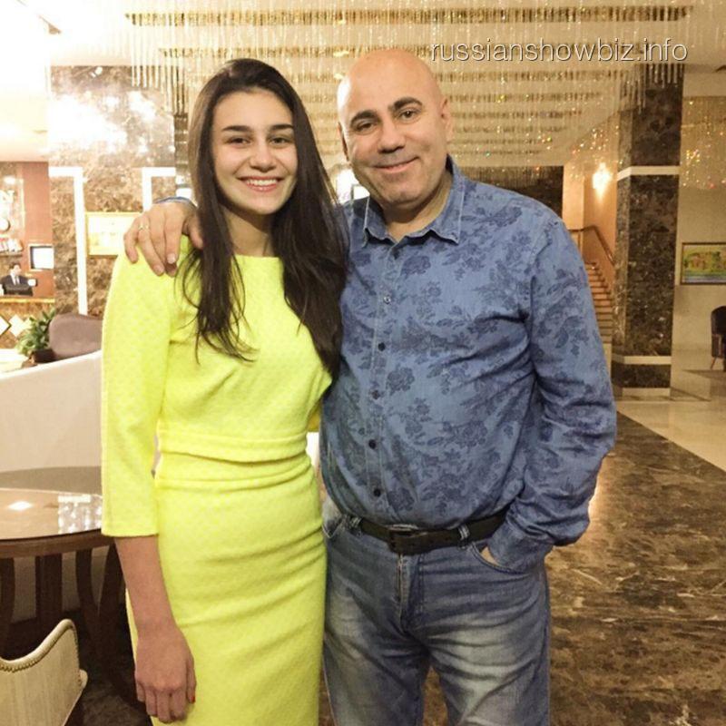Иосиф Пригожин с дочерью